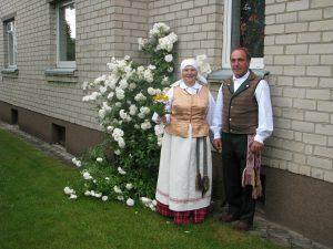 Medelyno įkūrėjai - Anelė ir Jonas Stancikai
