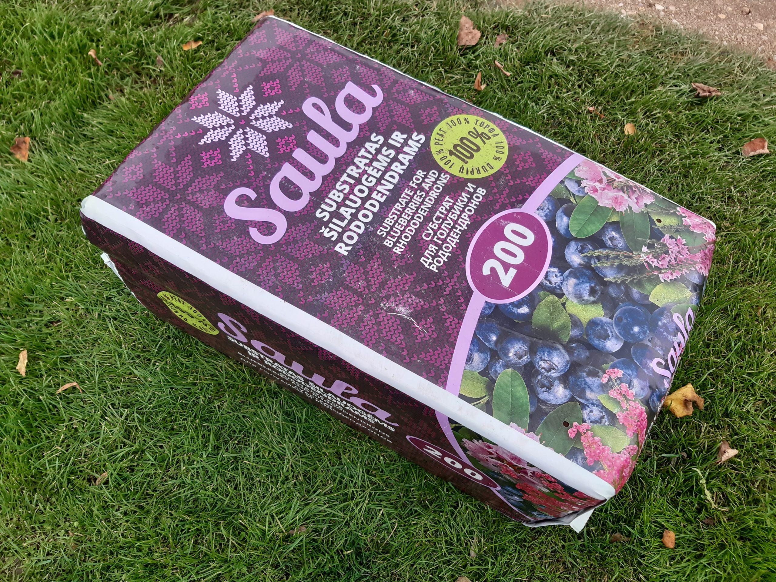 Substratas rododendrams ir šilauogėms 200l Saula